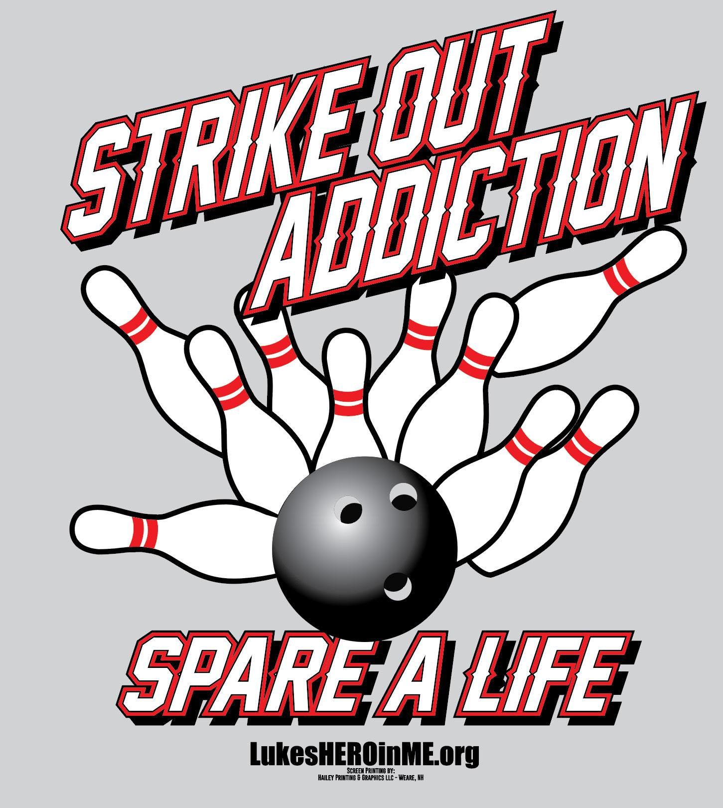 Bowling event with Large Long Sleeve Tee Shirt